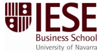 IESE Business School University of Navarra