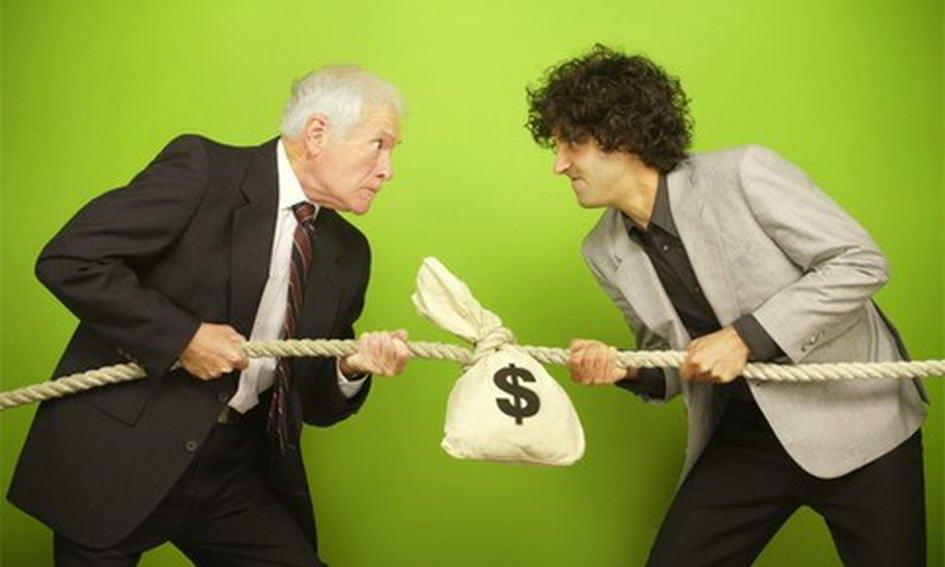 задумался, Выбивание долгов с клиента что